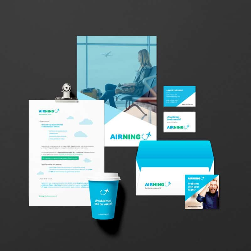 Airning | Branding | novva_ marketing