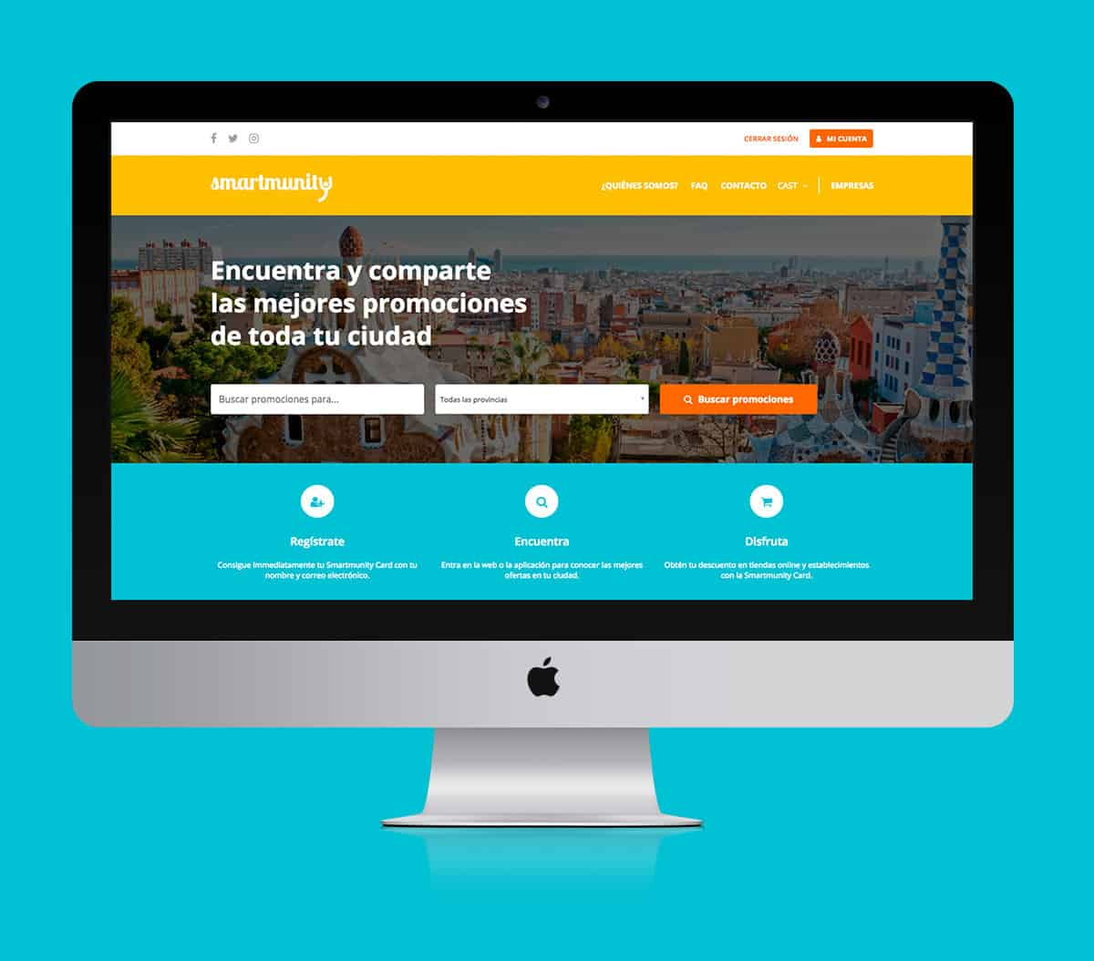 Smartmunity | Diseño Web | novva_ marketing
