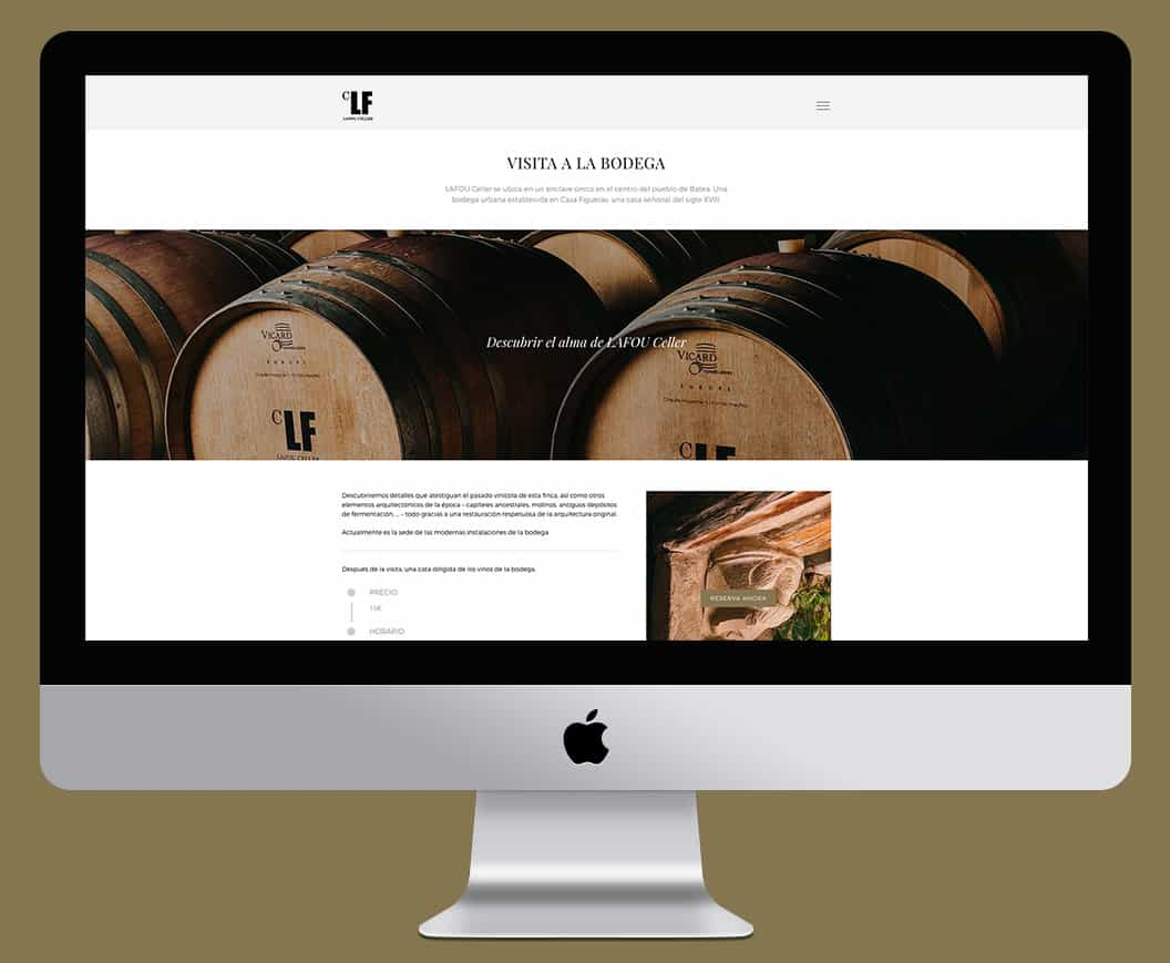 Bodegas LaFou | Diseño Web UX/UI | novva_ marketing