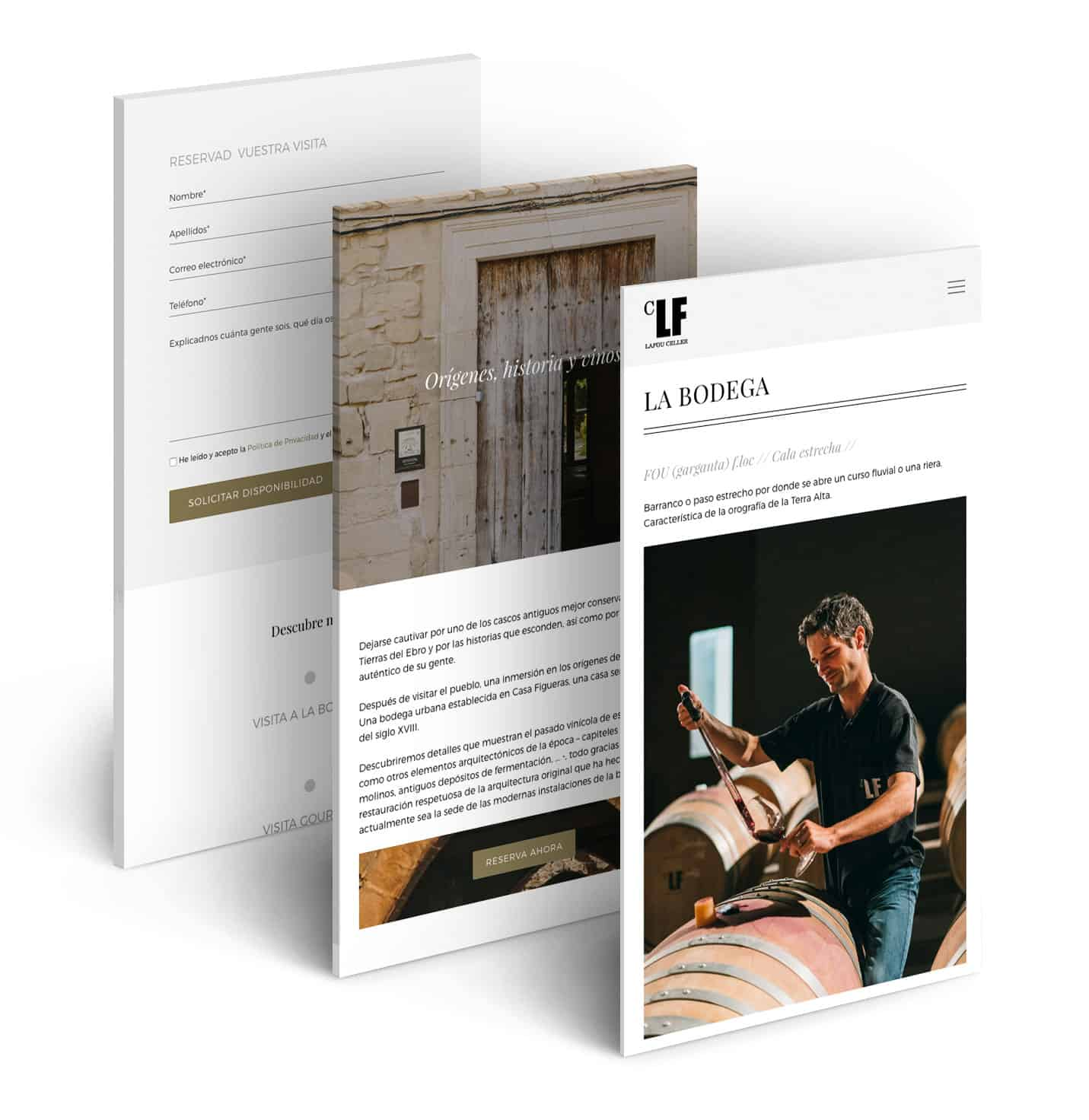 Bodegas LaFou | Responsive | novva_ marketing